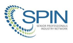 spin senior professionals industry network logo